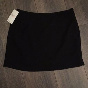 Black Skirt with Size Zipper NWT